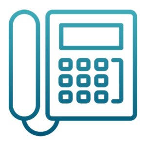 Corded Phone Icon