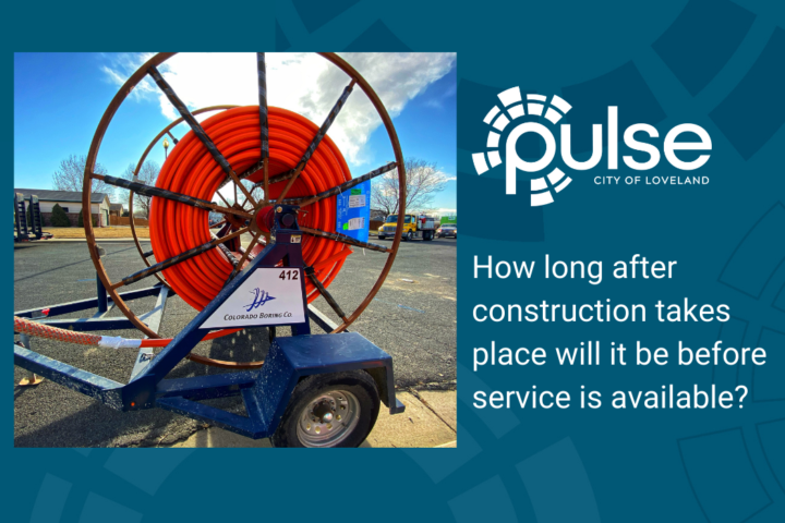 Following Pulse network construction, how long will it be before I can sign up for service?